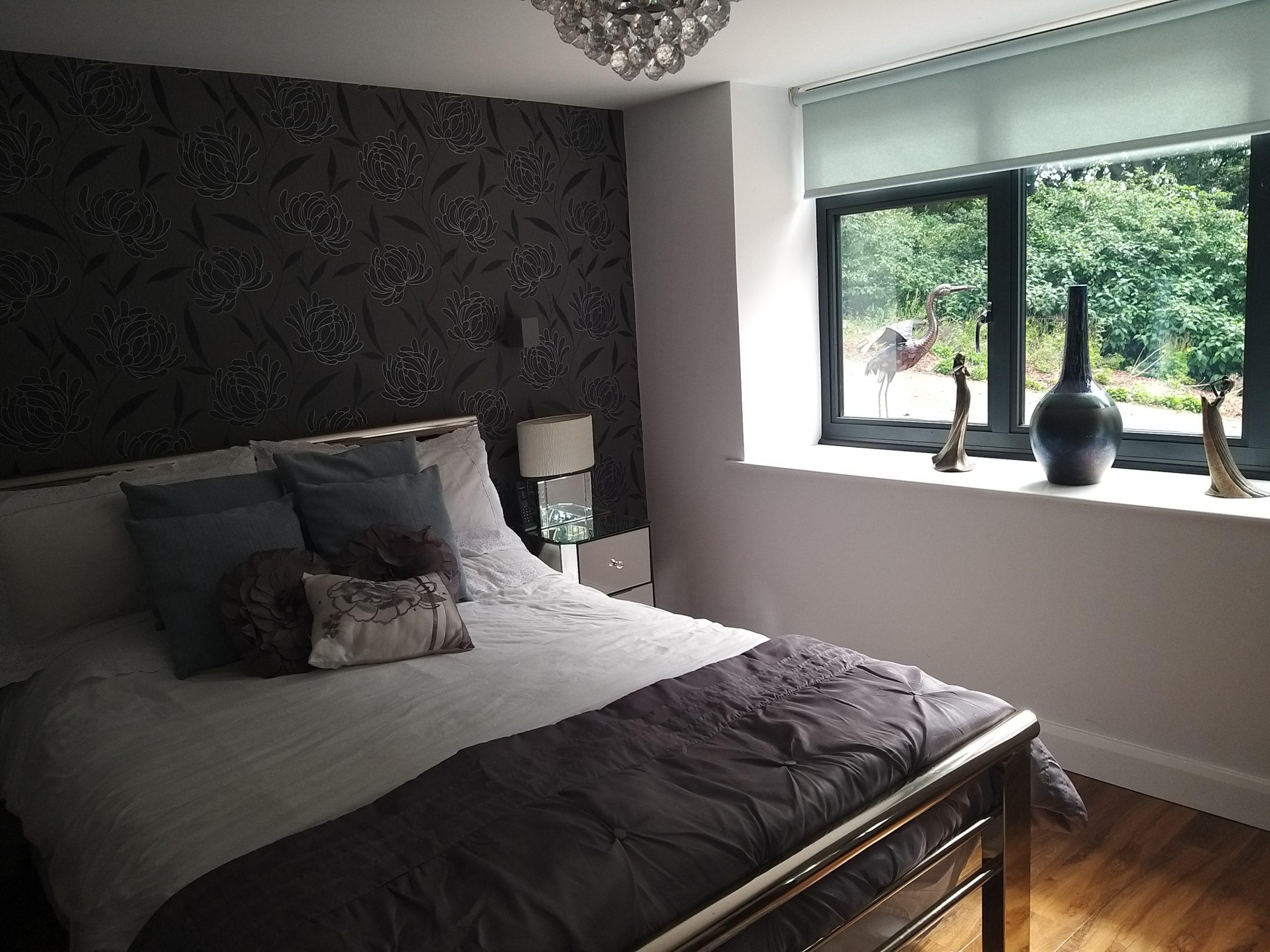 Garage conversion master bedroom