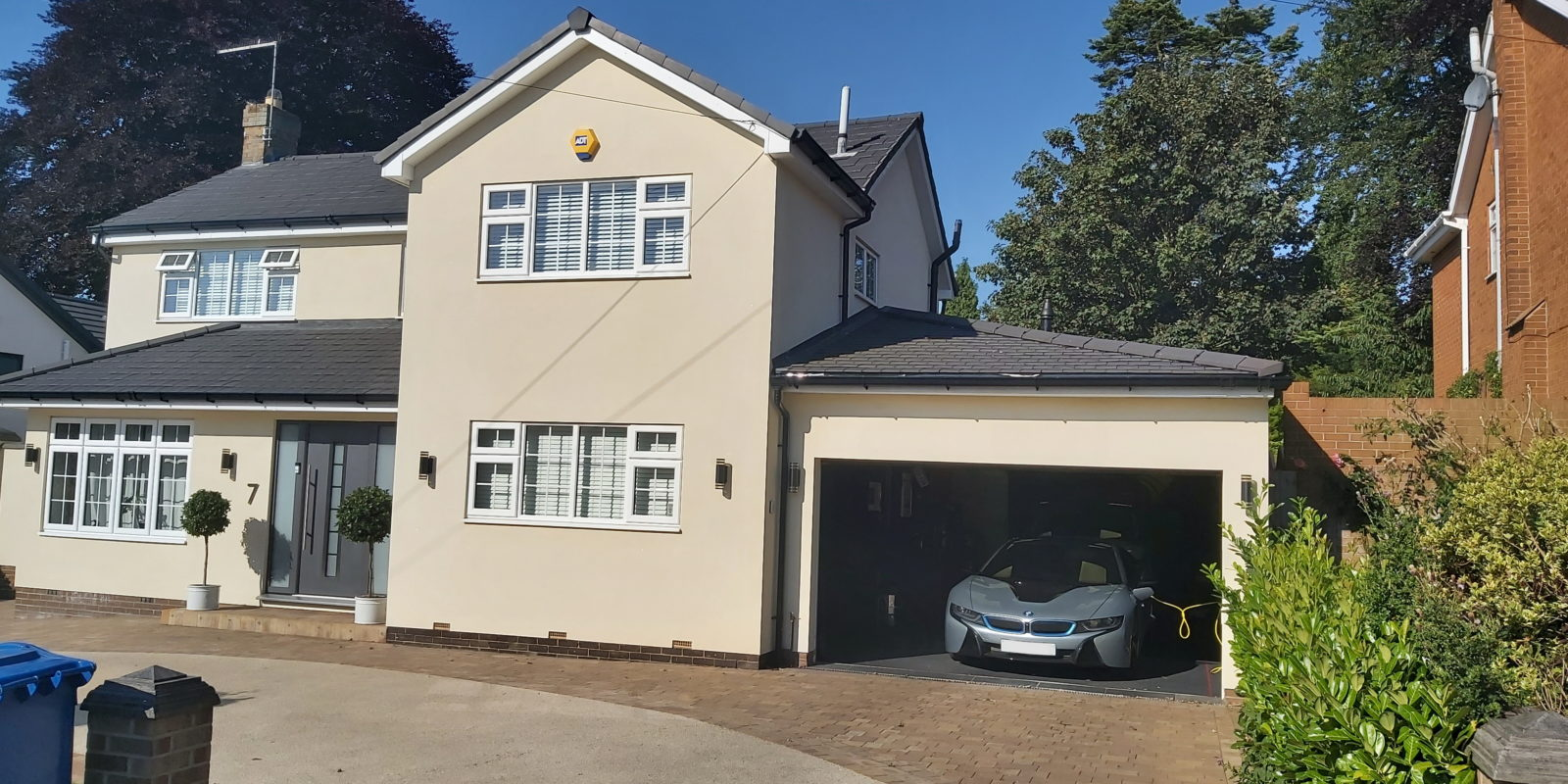 New Build Garage
