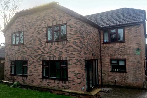 Double storey extension in Halifax