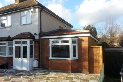 House extension in Wakefield