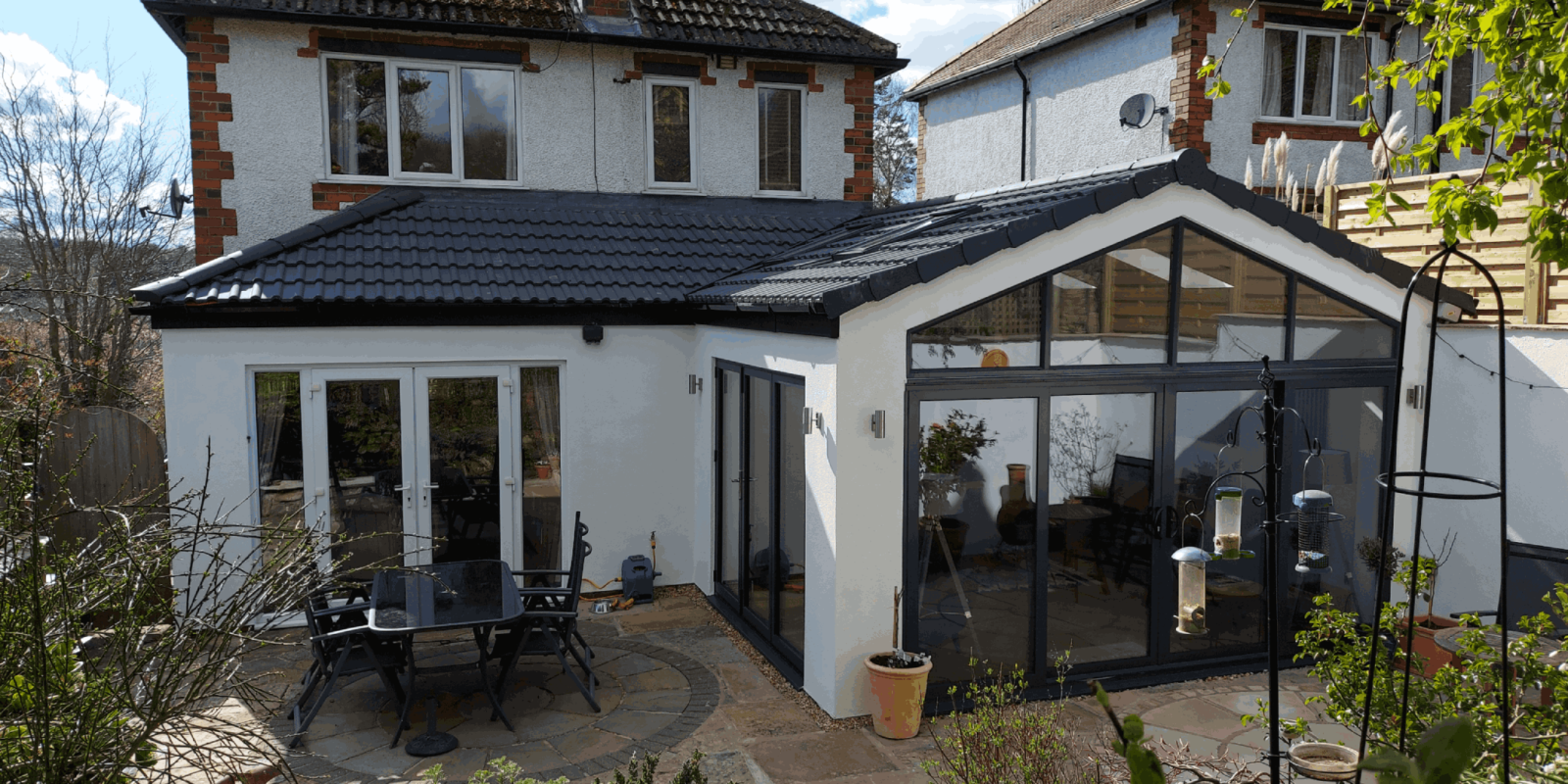 Side Extension with Open Plan Kitchen Diner