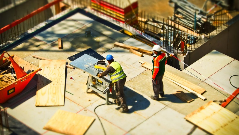 UK Builders using materials